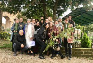 Incontro con gli studenti dello IED e Zappata romana